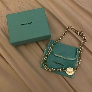 Return to Tiffany's Oval Tag Choker Necklace